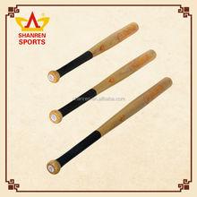 Wholesale baseball equipment Ash wood top grade design wood color baseball bat
