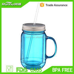 Famous Brand Hot selling 20 oz Mason Traveler Tumbler With Metal Lid And Straw RH118A-20