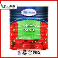 Can/Tin New Crop Tomato Paste In Glass