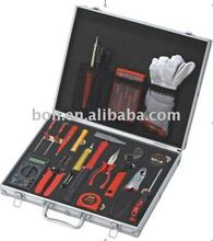 22pcs aluminum tool kit professional hand tool set