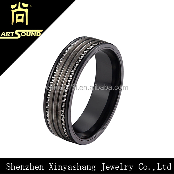Fashion charm stainless steel sample wedding ring designs for Sample of wedding rings