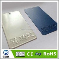 Antibacterial spray powder coat for medical door and window