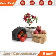 Colorful kraft paper storage bag,round kraft paper storage bag