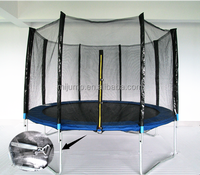 2015 new design round outdoor trampoline for kids fitness