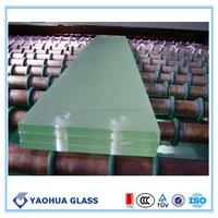 China manufacture blocks glass clear laminated glass 6.38mm