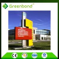 Greenbond aluminum cladding wall cladding acp sheet work acp sheet