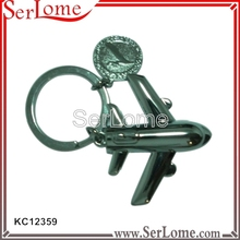 metal egypt reflective keychain with factory price