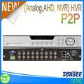 Hot alta qualidade 720 P em tempo real 16CH * 720 P / 16CH * 960 H 3 g wi fi gravador de voz em linha