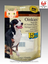 clear vacuum plastic packaging pet food bag