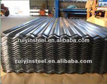 De zinc de acero corrugado para techos de hoja dx51d-z275 sgcc