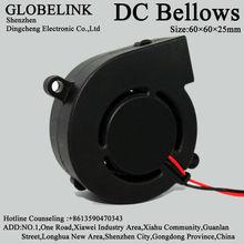 DC Cooling Fan 60x60x25mm 5V 12V 24V 6025 DC Centrifugal Exhaust Fan Blower