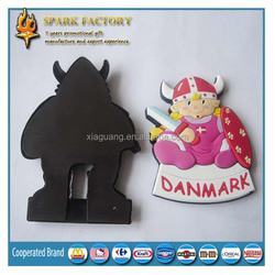 FM015 Promotional Advertising Gift Souvenir Flexible Rubber 2D or 3D Soft PVC Fridge Magnet