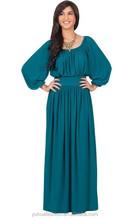 Muslim long maxi dress for woman