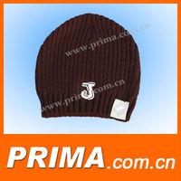 Winter Plicate Baggy Beanie Knit Crochet Ski Hat