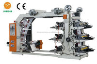 6 color middle speed Wedding invitation card Flexo printing machine