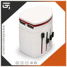 2015 new products worldwide thailand electric universal travel adapter with surge