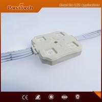 Hot sale China manufacturer RGBF DMX back light sign 4pcs SMD550 waterproof Led module for channel letters back lighting