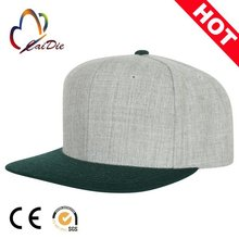 New style wholesale promotional custom snapback charcoal