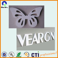 4mm engraving PVC advertising foam board for decoration