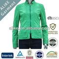 verde por igual de chaqueta corta de confección del tinte