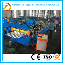 2015 Hot sale low price aluminum roof tile ridge cap roll forming machine