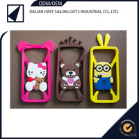 New design Silicone ring Universal silicone phone frame case