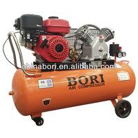 8.8 cfm 5.5hp portable petrol engine air compressor 50L/100L
