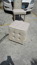 white high quality chairs modern decorative ottomans