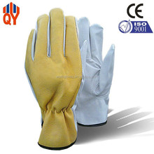 Grain Pigskin Leather High Impact Protective Gloves