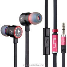 2015 China headphones popular stylish earbuds, good quality 3.5mm hearphone.