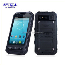 shenzhen factory Hot selling IPS screen MTK6572 dual core NFC function Android 4.0inch IP67 rugged smartphone