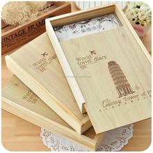 custom slide cover wooden box