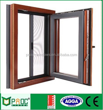 Wholesale Aluminum Tilt And Turn Window With Australian Style For Light Steel House