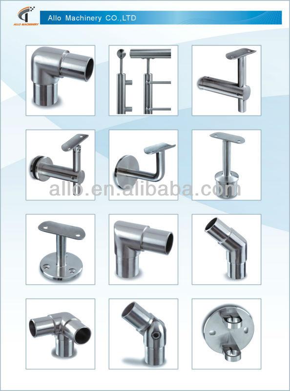 Ss stainless steel adjustable handrail bracket railing