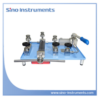 HS710A Manual Water Meter gauge testing bench