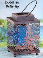 2015 Metal solar mosquito repellent lamp for garden