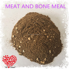 Meat and bone meal with excellent palatability