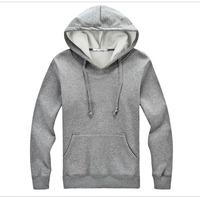 Factory Manufacture 100% Cotton Fleece Warm Hoody For Men Wholesale