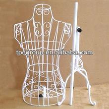 stock handicraft metal wire femal rack,K/D model metal display rack