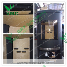 Vermiculite Fireproofing Board Heat Insulating Brick for Wood Burning Fireplace