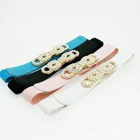2015 hot sale elastic belt for summer dress ,women belts