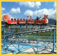 Attractive!Musical equipment kiddie rides Sliding dragon roller coaster.amusement park rides roller coaster.