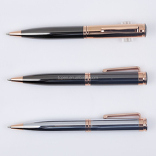 The favoured copper material with rose gold parts plated made metal ball pen