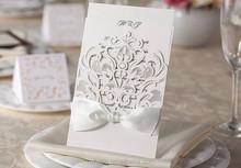 2014 New Laser Cut Pocket Invitation Card Lined Envelope