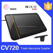 Ugee CV720 8x5 inches 5080LPI 2048 levels usb interface painting tablet