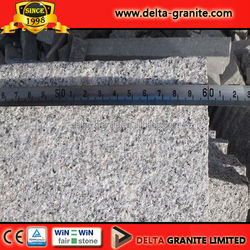 Chinese high quality light silver grey granite G341 and G603 paving tiles 60x30x6cm with competitive price
