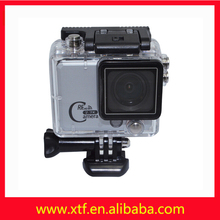 Full hd 1080 p 2 inches operating camera, 2.4 g remote 50 meters waterproof camera wireless DVR