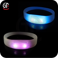 Gifts Giveaways Wholesale Chinese Items Motion Activated Blinking Led Wristband For Events