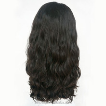 Fast delivery top quality brazilian hair kosher wigs silk top base full lace wig with baby hair