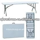 Plastic folding table / Outdoor folding table (Blow mold, HDPE, STEEL)